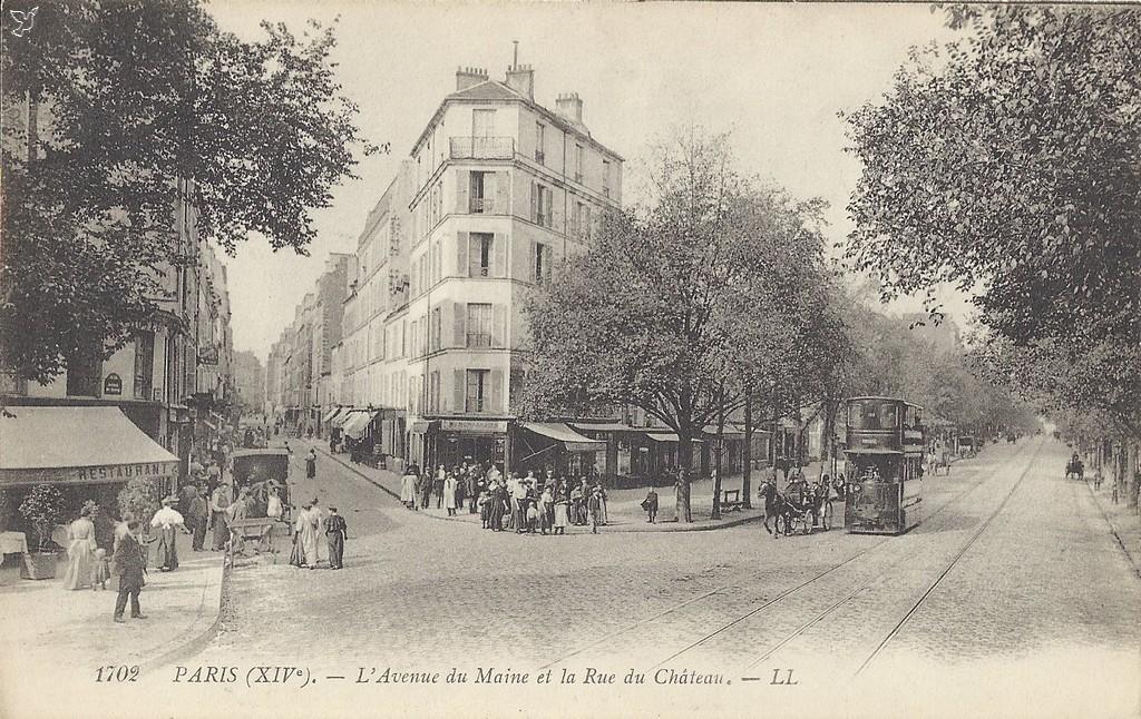 Hotel Avenue Du Maine Paris