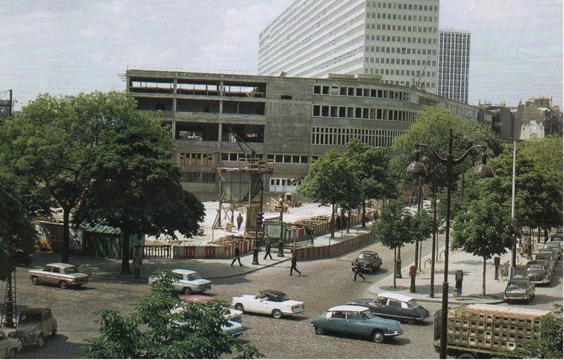 Paris Avenue du Maine 1965 petit