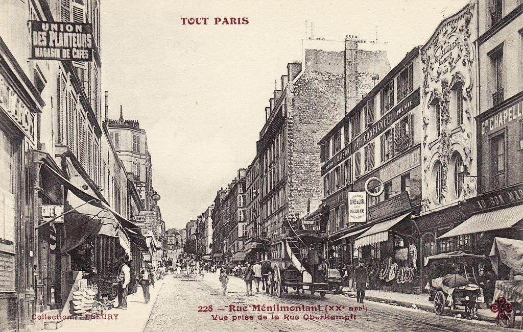 Paris 20 La Rue De M 233 Nilmontant Paris Unplugged