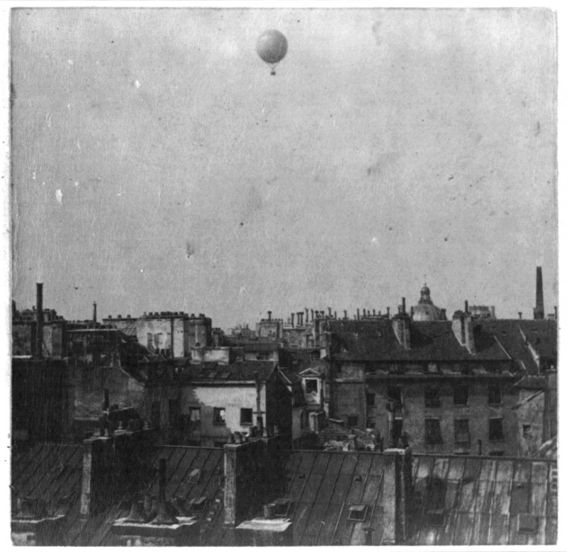 Ballon d'Henri Giffard - 1878