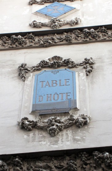 Paris 02 – Les tables d'hôtes