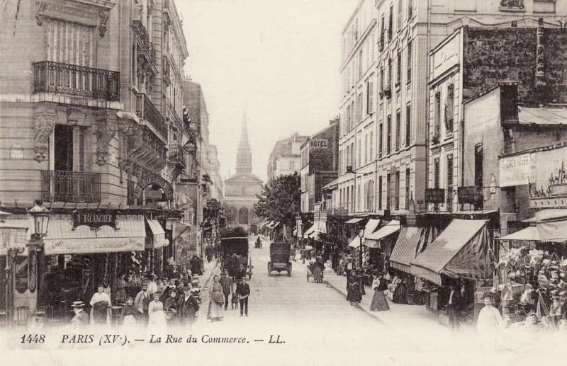 1824 la rue du commerce paris unplugged - Rue du commerce aspirateur ...