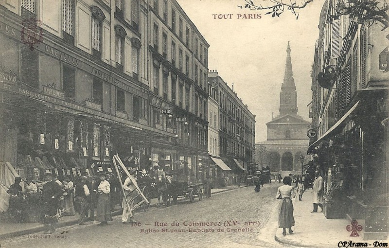 1824 la rue du commerce unplugged
