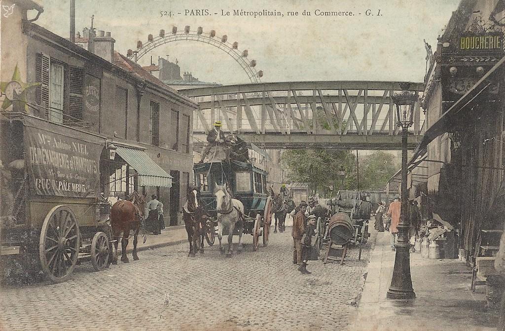1824 La Rue Du Commerce Paris Unplugged