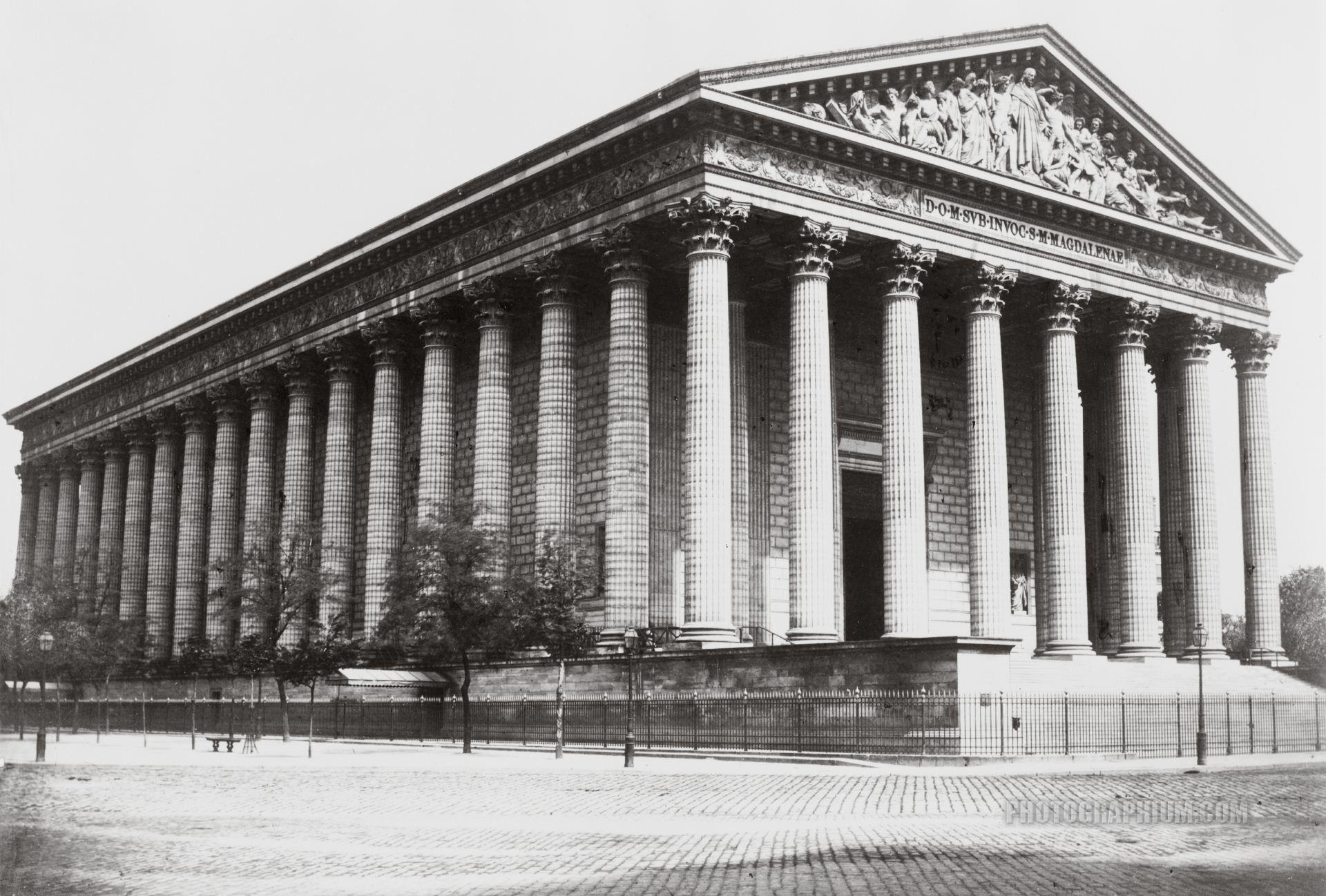 1845 l 39 glise de la madeleine paris unplugged - La maison de la truffe madeleine ...