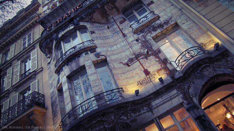 Façade du Ceramic Hotel - 34 avenue de Wagram