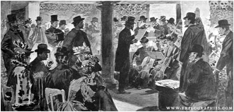 1897 concert catacombes