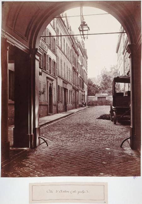Cité d'Antin Aile gauche de la rue de Provence