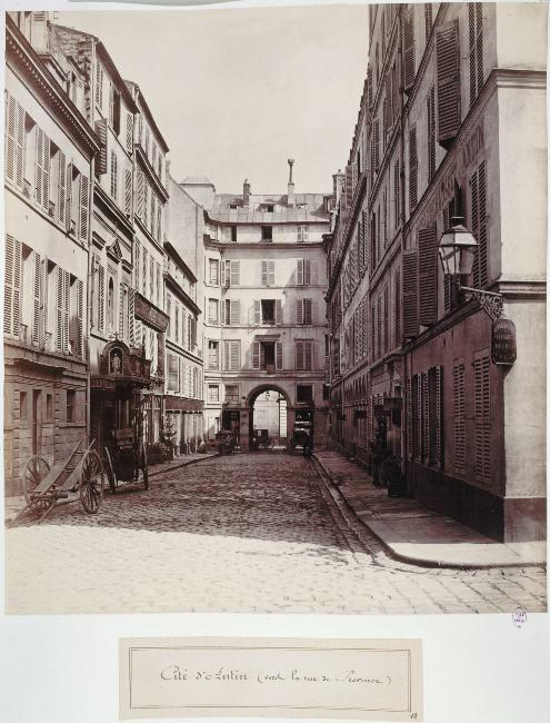 Cité d'Antin, Partie Ouest de la rue de Provence