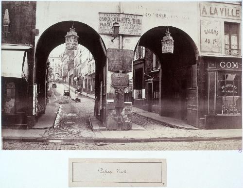 Passage Tivoli de la rue Saint Lazare