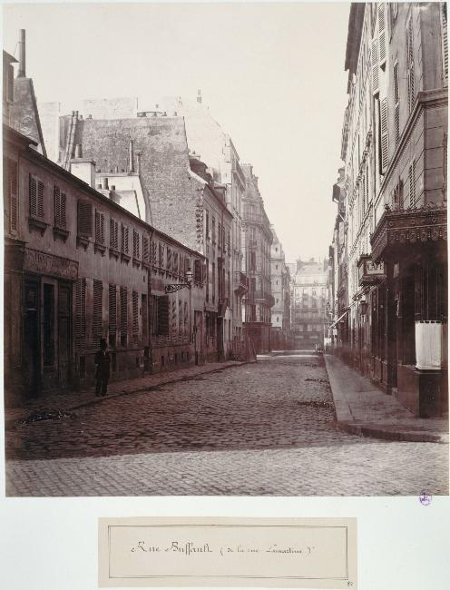Rue Buffaut de la rue Lamartine