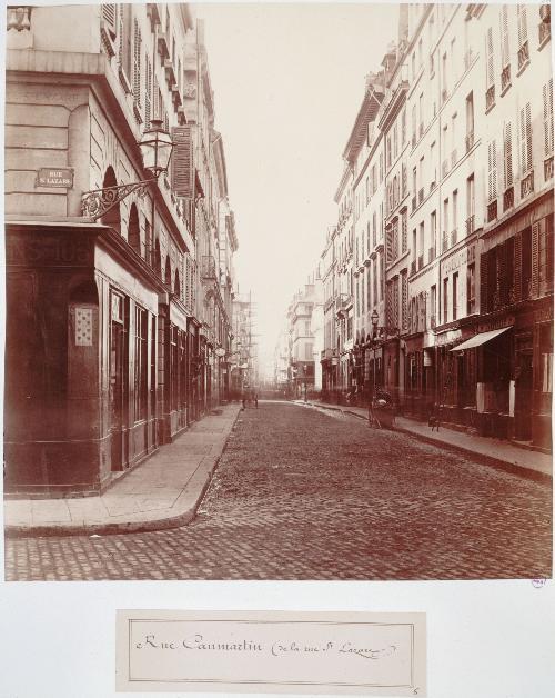 Rue Caumartin/Rue Saint Lazare