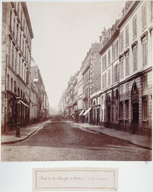 Rue de la Chaussée d'Antin