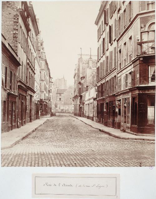 Rue de l'Arcadre