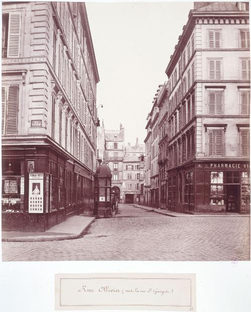 Rue Ollivier/ Rue Saint Georges