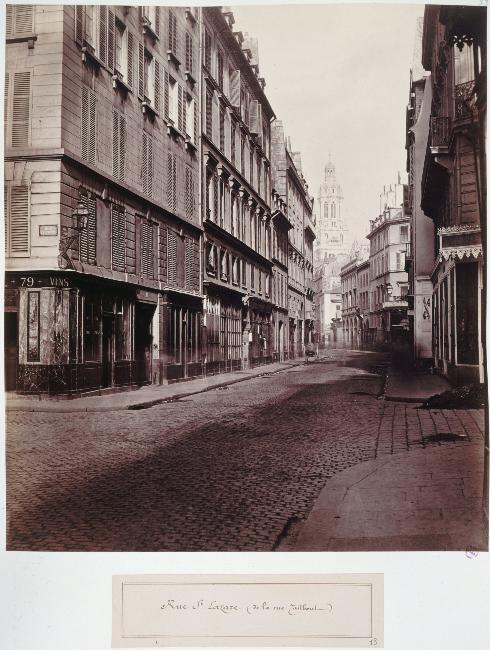 Rue Saint Lazare/ Rue Taitbout