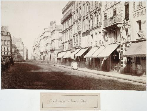Rue Saint Lazare / Place du Havre