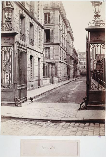 Square Cluny - Rue Neuve des Mathurins
