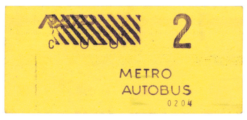 2e classe 1978 - le fameux ticket chic ticket choc