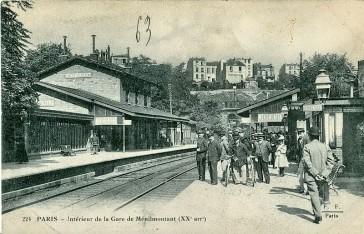 1868 – La Gare de Ménilmontant