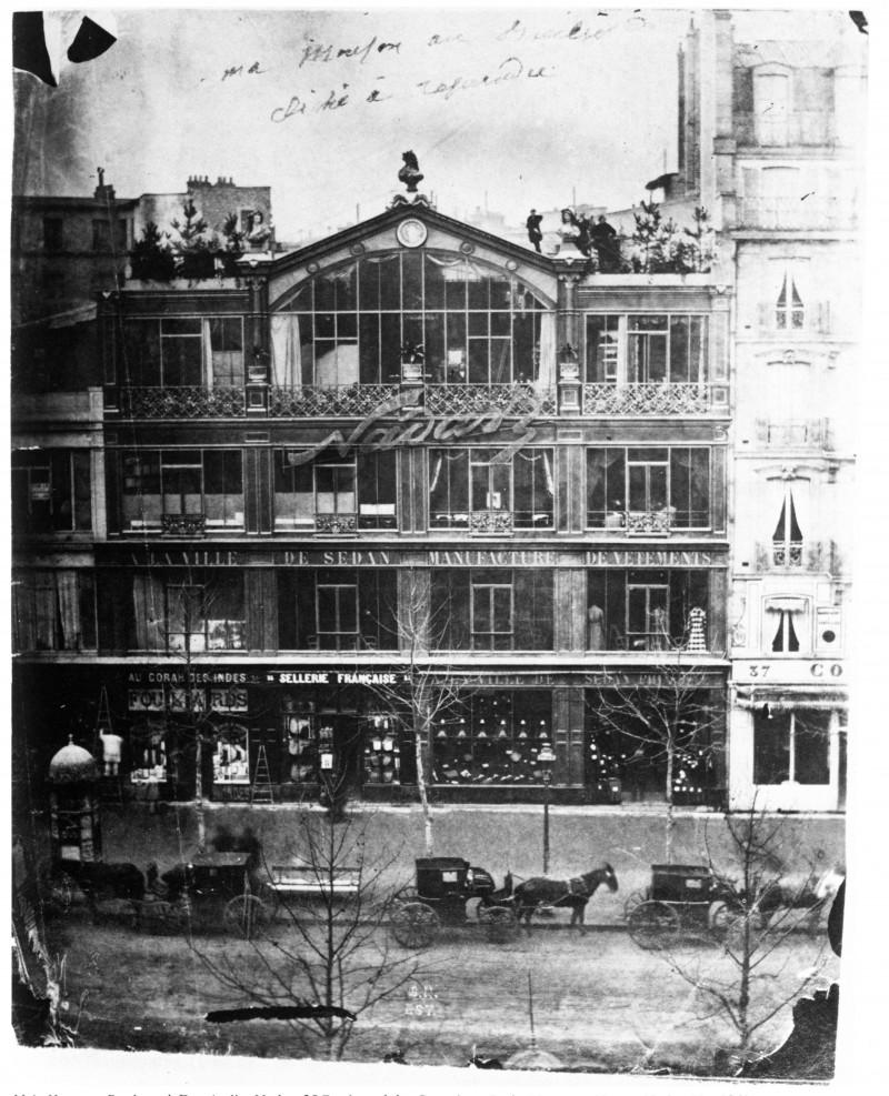 L'atelier en 1860