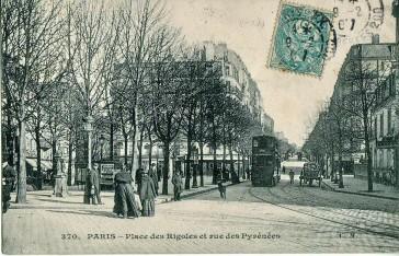 1877 – Rue des Pyrénées