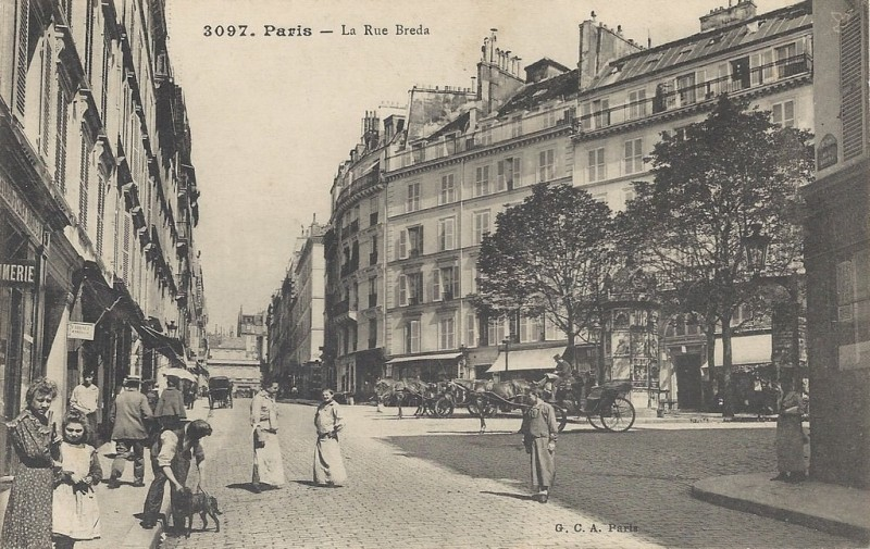 Rue Henri Monnier
