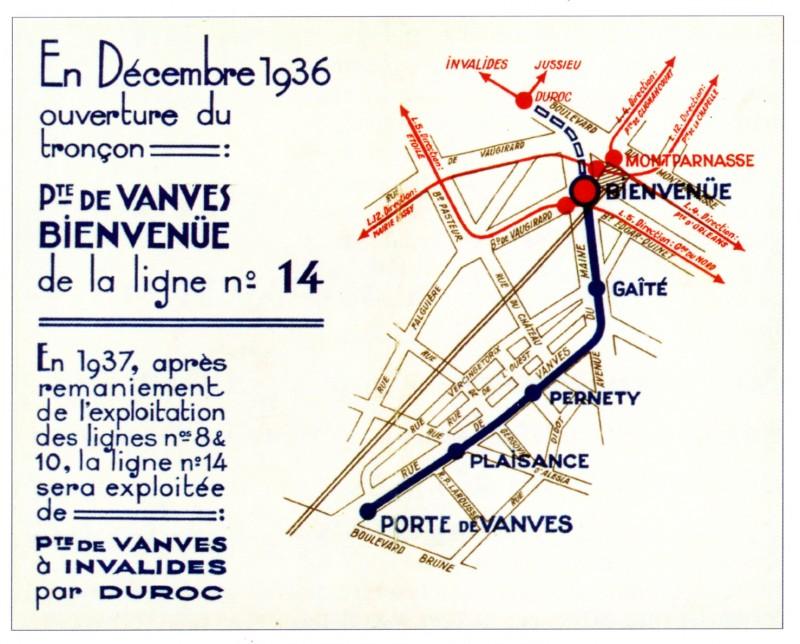 Ligne_14_-_Porte_de_Vanves_-_Bienvenue_-_1936