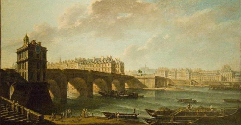 Raguenet - Le Pont Neuf et la Samaritaine