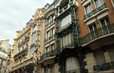 Paris 10 – Les façades Art Nouveau de la rue d'Abbeville