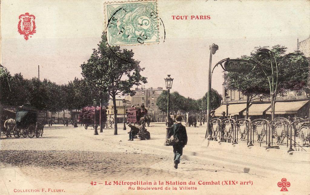 1326130031-42-Tout-Paris-Le-Me-tropolitain-e-la-Station-du-Combat.Au-boulevard-de-la-Villette-XIXe-arrt-