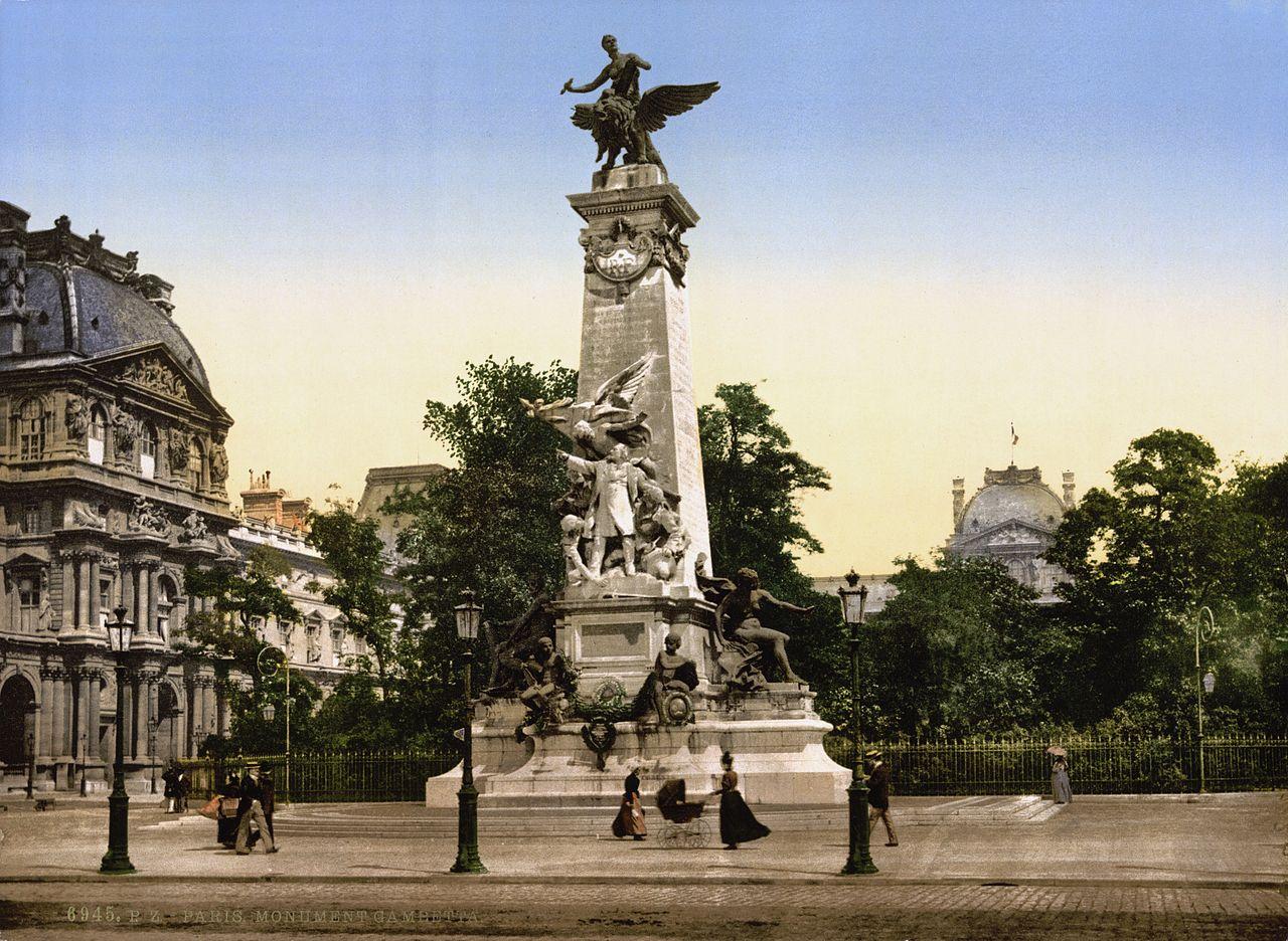 Paris 20 grandeur et d cadence du monument gambetta for 20 images