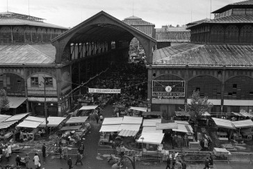1967 – Les Halles avant destruction