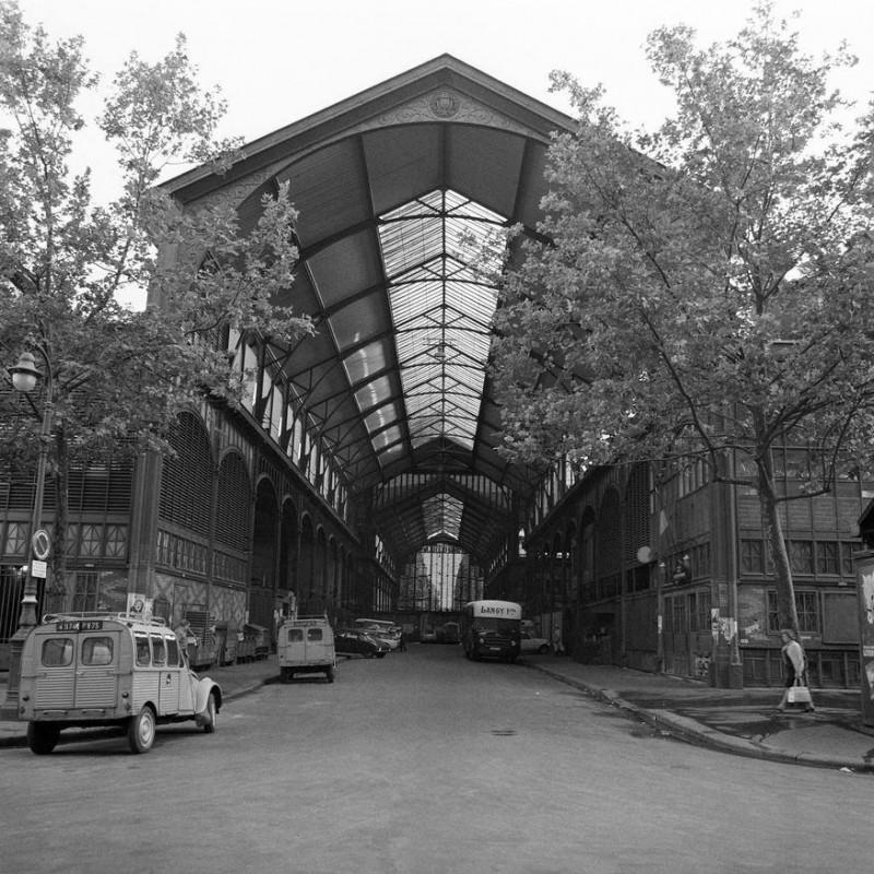 Rue couverte des Halles de Paris 1967 © Aimé Dartus / Ina