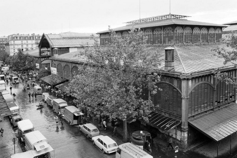 Pavillon des halles 1967 © Aimé Dartus / Ina
