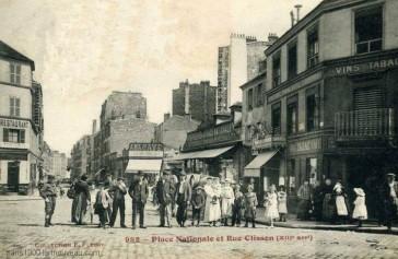 Paris 13 – La rue Nationale