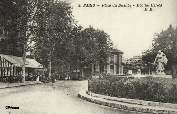 1875 – Place et station Danube