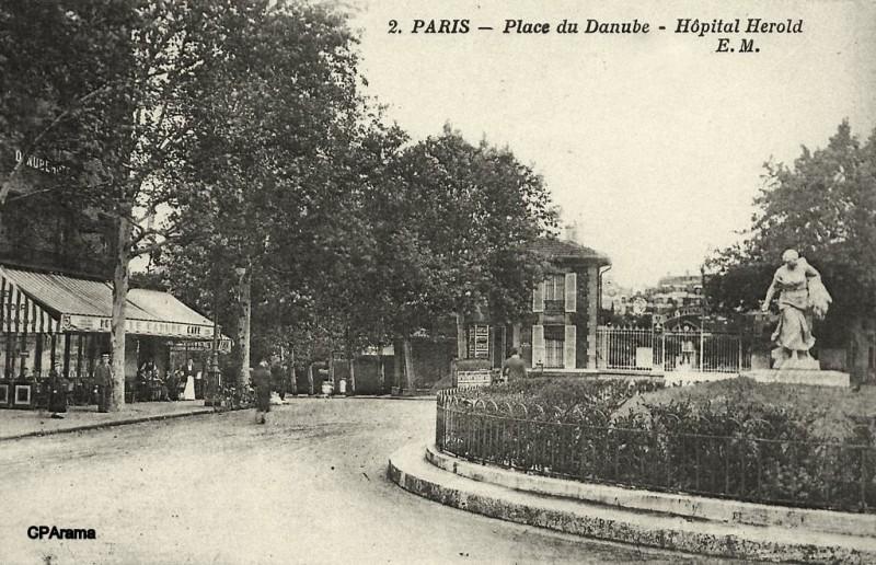 1875 - Place et station Danube - Paris Unplugged