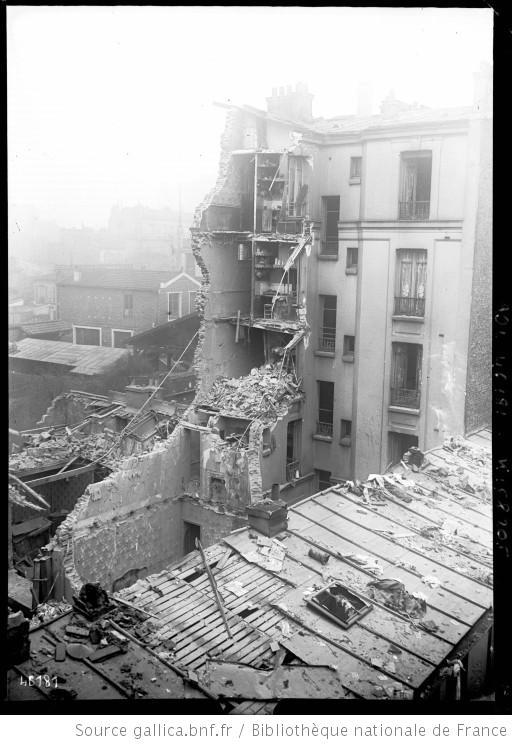Bombardement ménilmontant