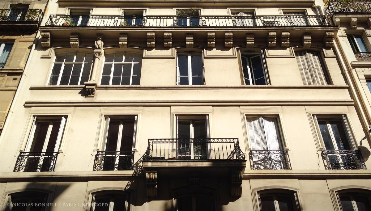 Facade du 68 rue Condorcet