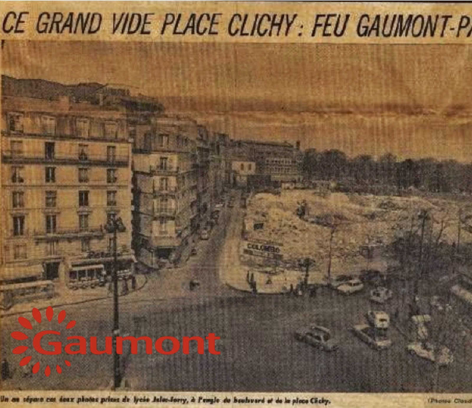 Destruction du Gaumont Palace pierre-philippe-gaumont.blogspot.fr