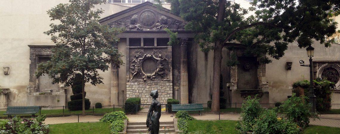 Les vestiges des Tuileries