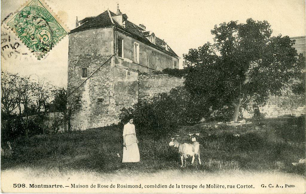 Rue Cortot - cparama