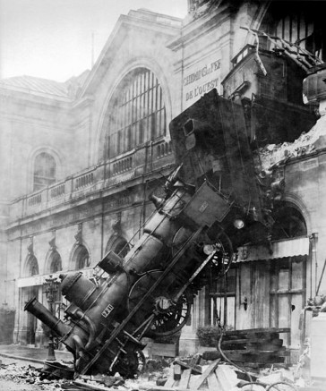 1895 – L'accident de Montparnasse
