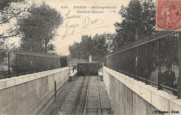 1914 – 1945: Stations de Métro rebaptisées