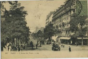 1860 – De la barrière du Roule à la place des Ternes