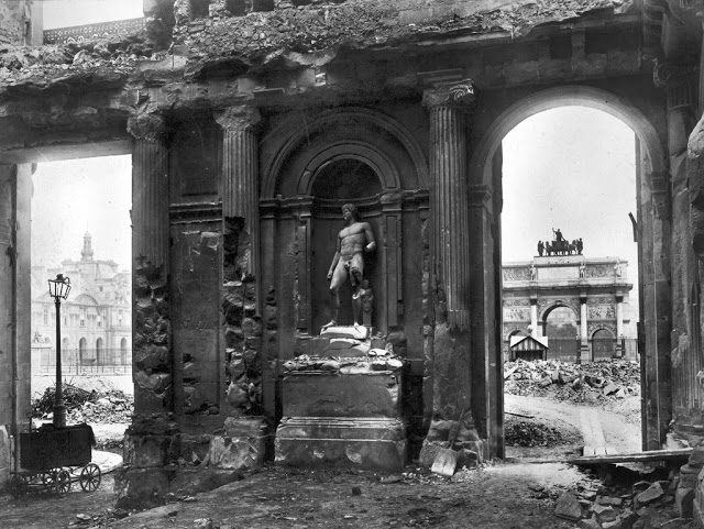 1871 La Destruction Du Palais Des Tuileries Paris Unplugged