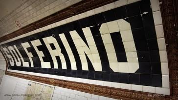 1910 – L'ancien réseau Nord Sud du métro