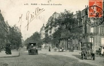1864 – Le Boulevard de Courcelles