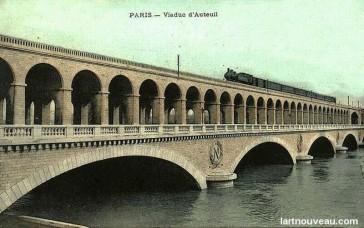 1863 – Le Viaduc d'Auteuil